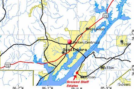 Location for Breland homes website
